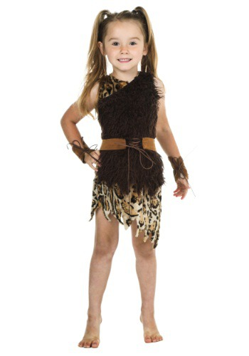 Click Here to buy Toddler Cavegirl Costume from HalloweenCostumes, CDN Funds