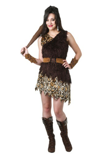 Cavewoman Womens Costume