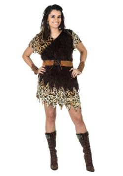 Plus Size Cavewoman Costume