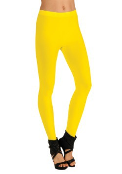 Women's Yellow Leggings