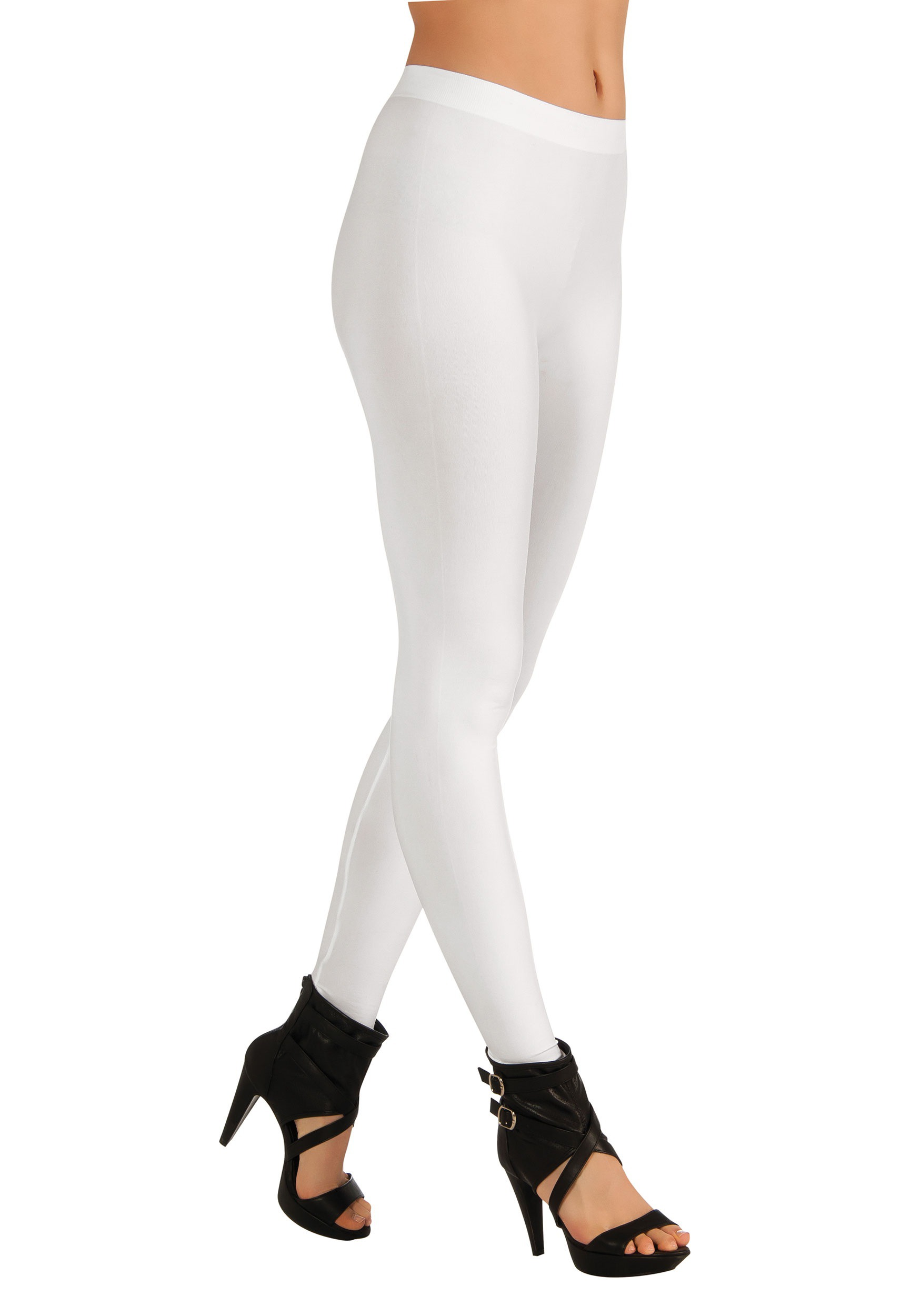 White Leggings Womens