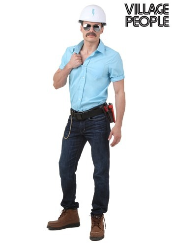 Plus Size Village People Construction Worker Costume