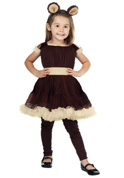 Toddler Girl's Bear Costume cc