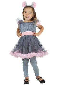 Toddler Girl's Mouse Costume