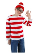Kids Waldo Costume