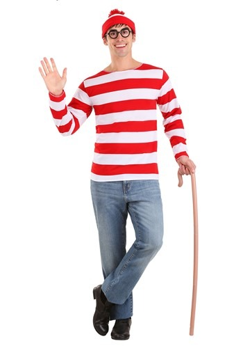 Where�s Waldo Costume � Exclusive Sizes Available By: Elope for the 2015 Costume season.