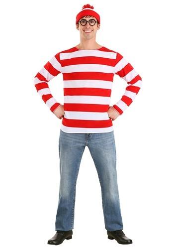 Wheres Waldo Costume for Adults