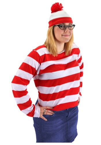 Plus Size Where Is Waldo Costume For Women