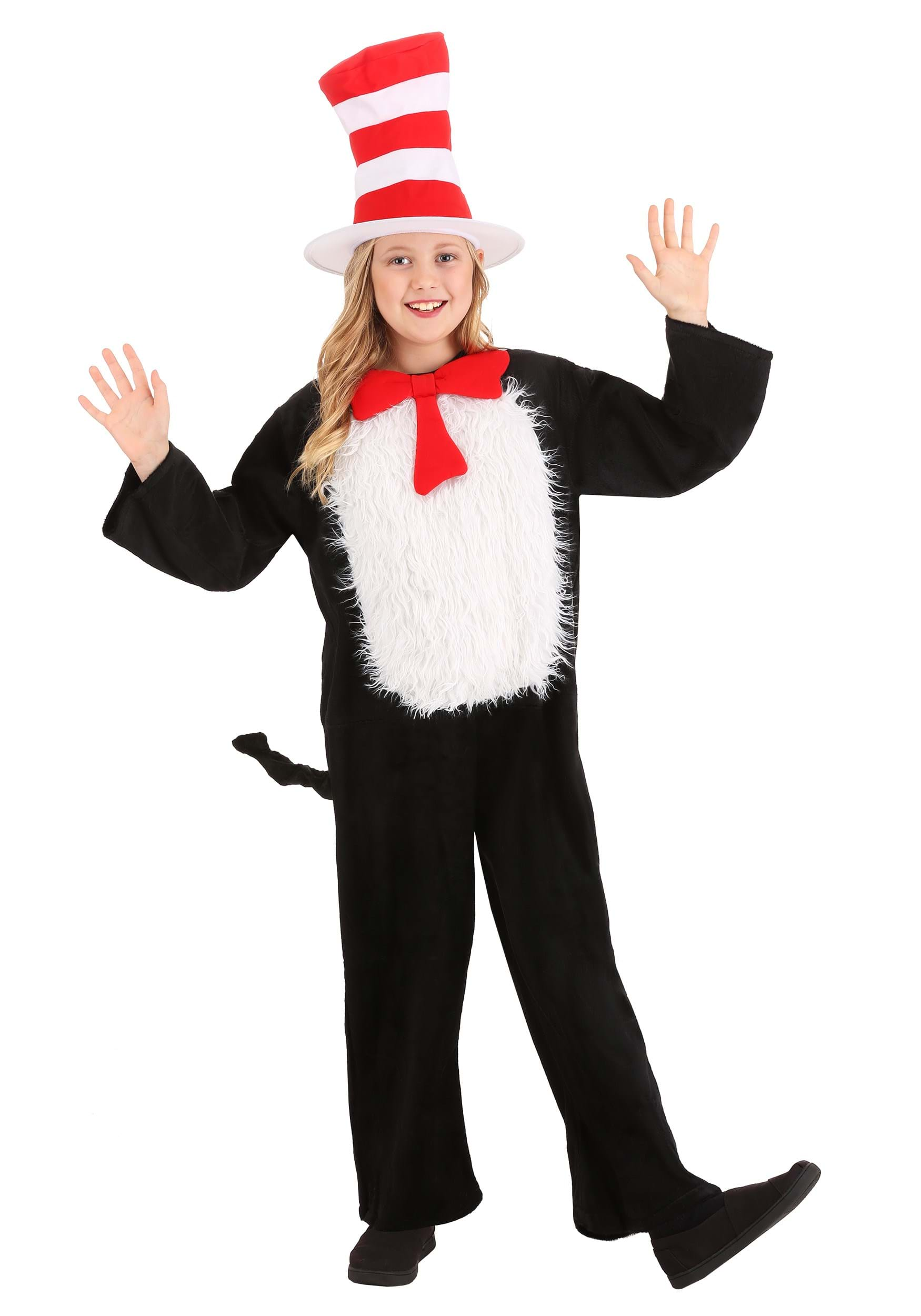 Child Deluxe Cheshire Cat Costume Deluxe Child Cat in The Hat