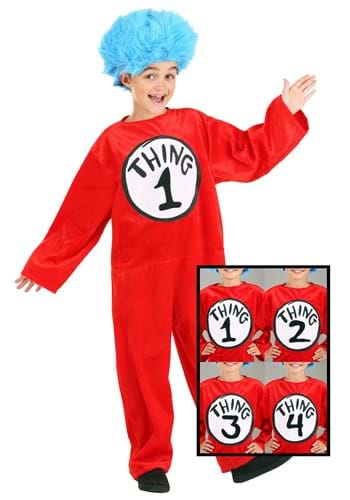 Click Here to buy Kids Thing 1 and 2 Costume from HalloweenCostumes, CDN Funds