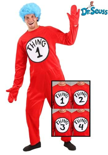 Adult Thing 1 and 2 Costume (Thing 1 And 2 Costumes)