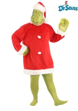 Adult Plus Size Grinch Costume Main UPD