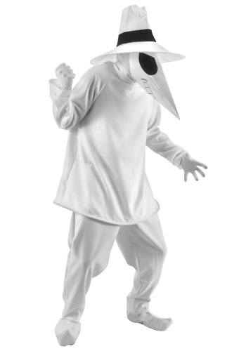 Adult White Spy vs Spy Costume By: Elope for the 2015 Costume season.