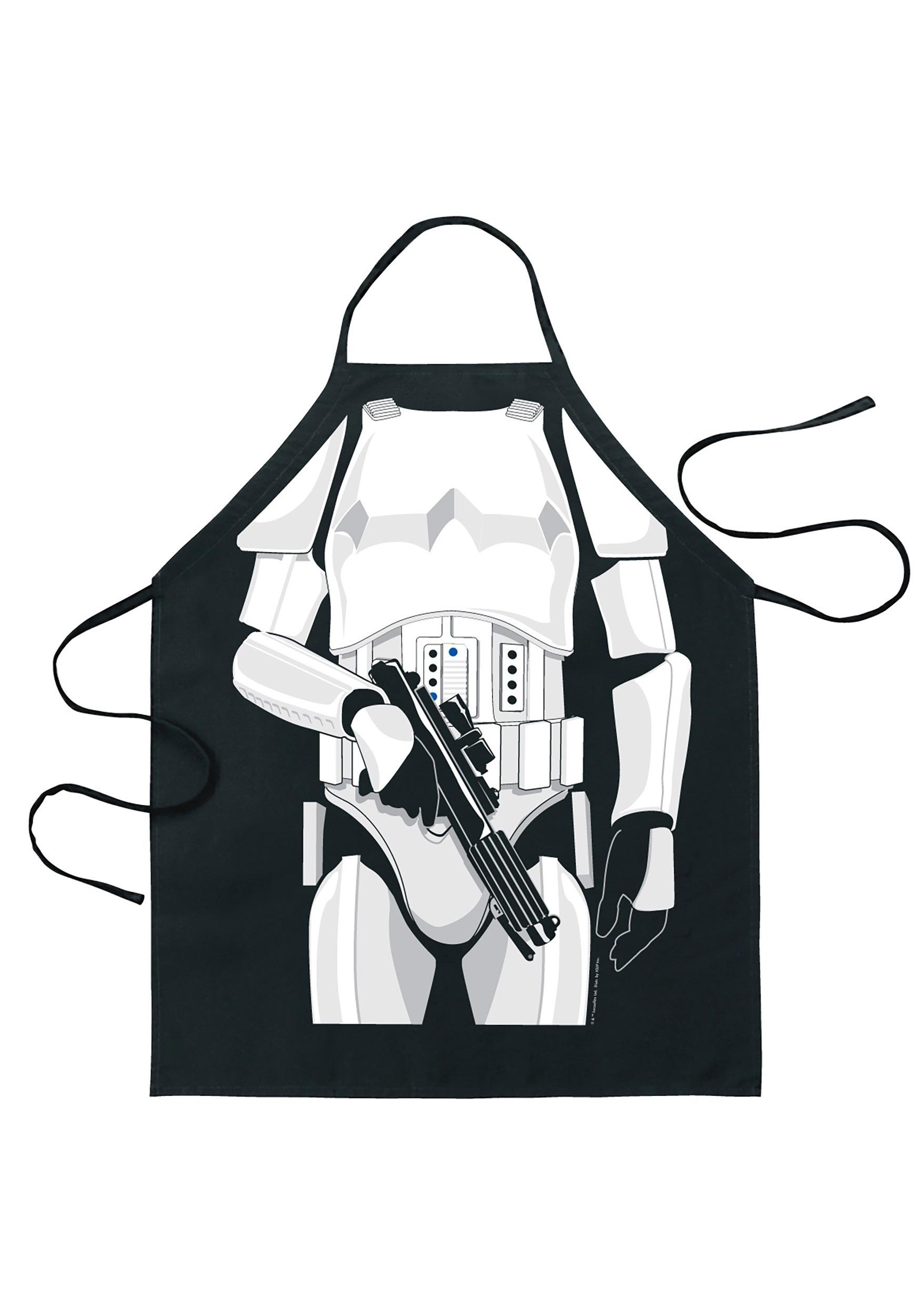 Plain white apron toronto - Star Wars Stormtrooper Character Apron