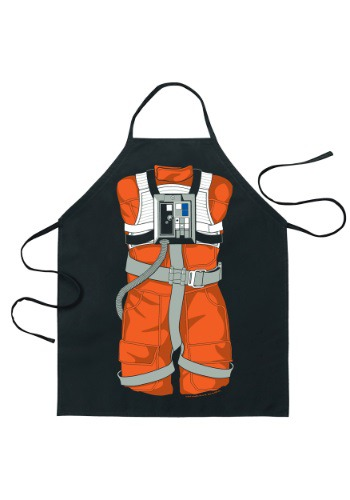 Image of Star Wars Luke Skywalker X-Wing Pilot Character Apron