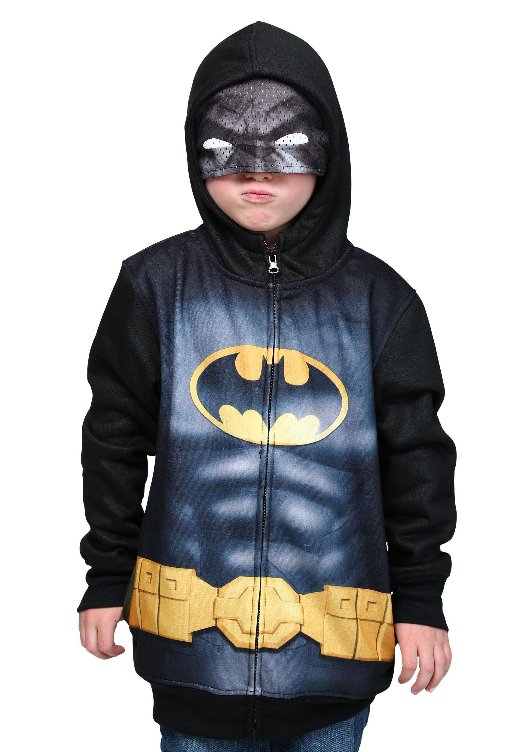 Batman mask hoodie