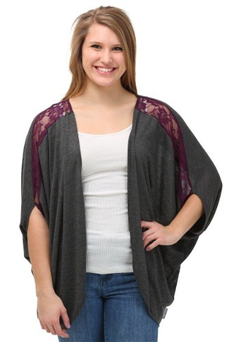 Click Here to buy Womens Hawkeye Dolman Shrug from HalloweenCostumes, USA Funds & Shipping