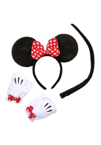 Click Here to buy Minnie Mouse Tail Accessory Kit from HalloweenCostumes, USA Funds & Shipping