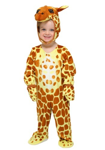 Click Here to buy Baby/Toddler Giraffe Costume from HalloweenCostumes, USA Funds & Shipping