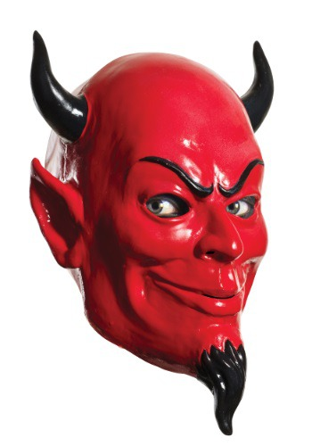 Click Here to buy Adult Scream Queens Overhead Devil Mask from HalloweenCostumes, USA Funds & Shipping