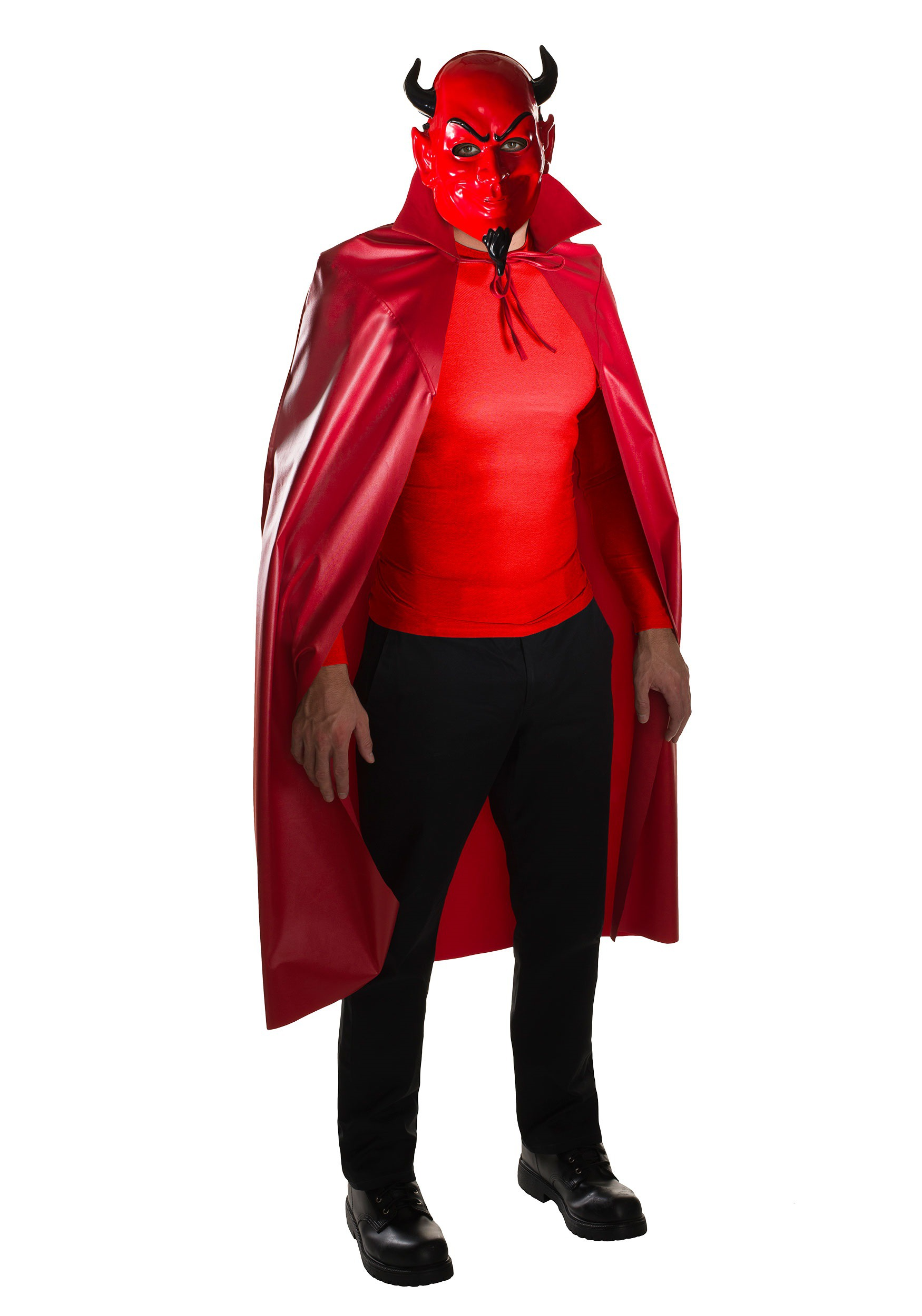 adult scream queens devil mask cape set - Halloween Costumes With A Cape