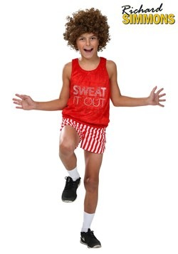 Kid's Richard Simmons Costume1