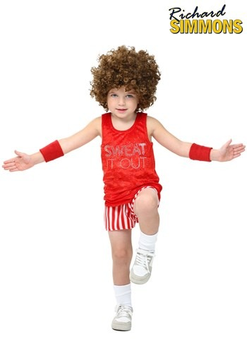 Toddler Richard Simmons Costume1