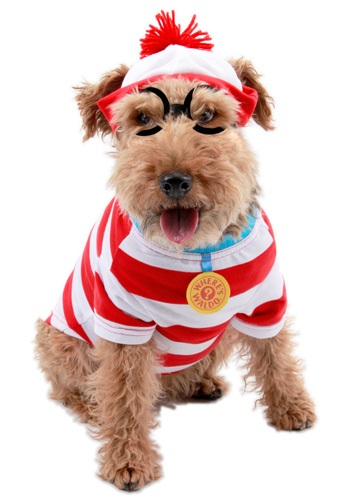 Click Here to buy Waldo Woof Dog Costume from HalloweenCostumes, USA Funds & Shipping