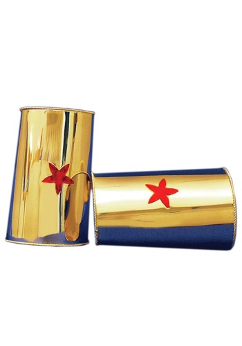 Red Star Gold Cuffs By: Elope for the 2015 Costume season.