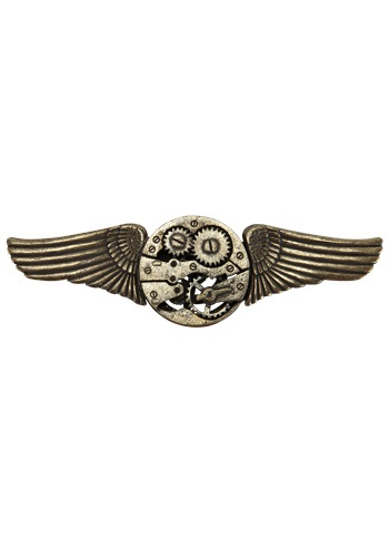 Click Here to buy Antique Gear Wing Pin from HalloweenCostumes, CDN Funds