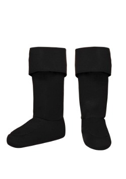 Child Black Superhero Bootcovers