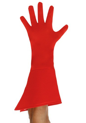 Click Here to buy Adult Red Superhero Gloves from HalloweenCostumes, USA Funds & Shipping