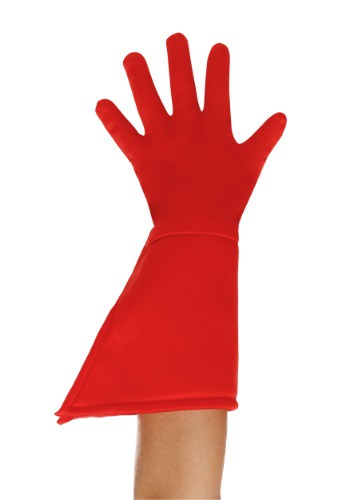 Click Here to buy Kids Red Superhero Gloves from HalloweenCostumes, USA Funds & Shipping
