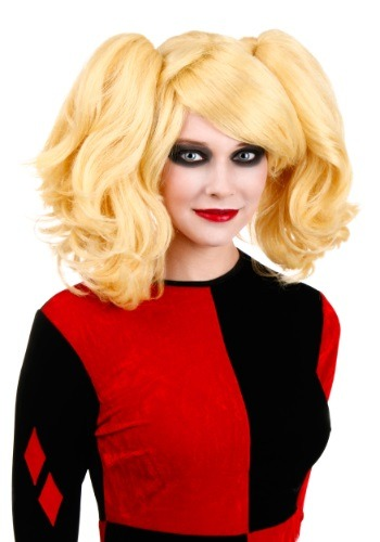 Click Here to buy Womens Harlequin Wig from HalloweenCostumes, CDN Funds