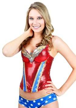 Wonder Woman Sequin Corset Upd