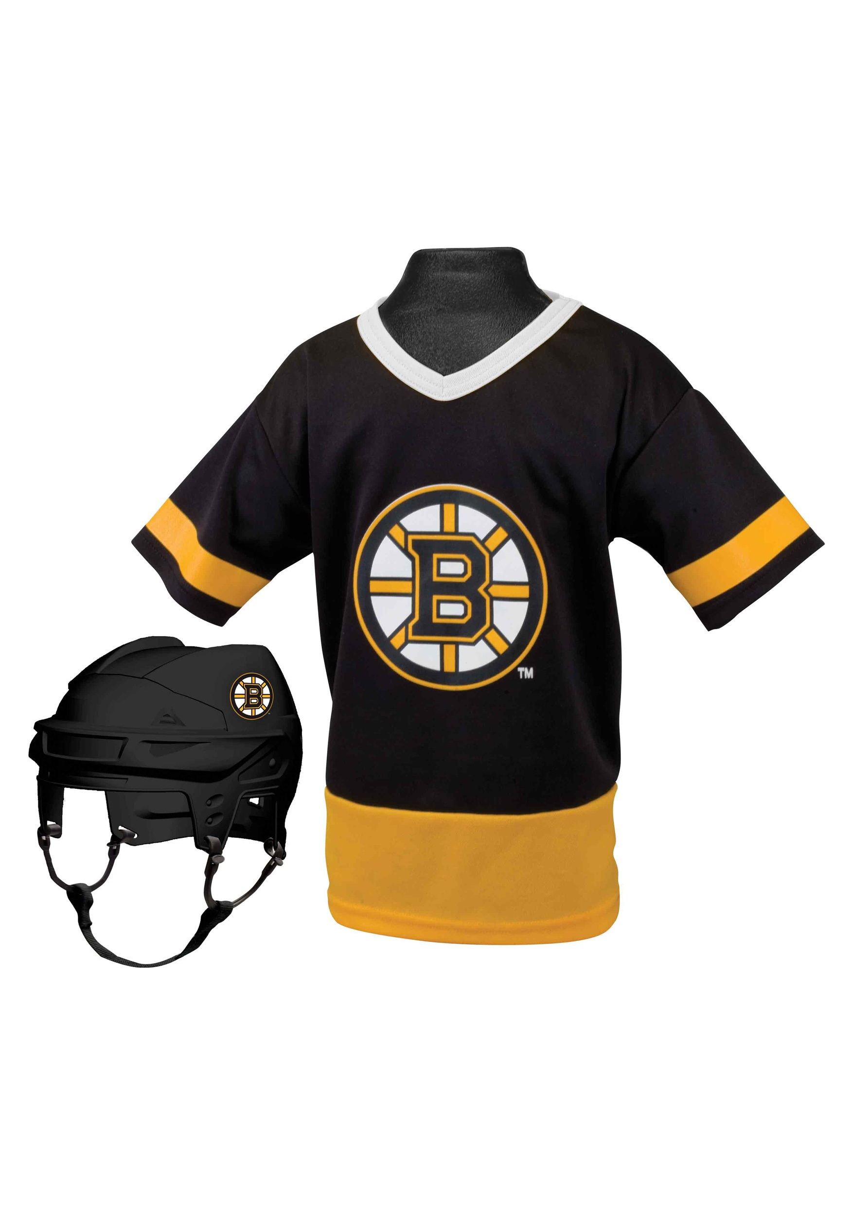 Kids NHL Boston Bruins Uniform Costume Set 4c2f546a7