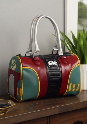 Image of Star Wars Boba Fett Bowler Purse