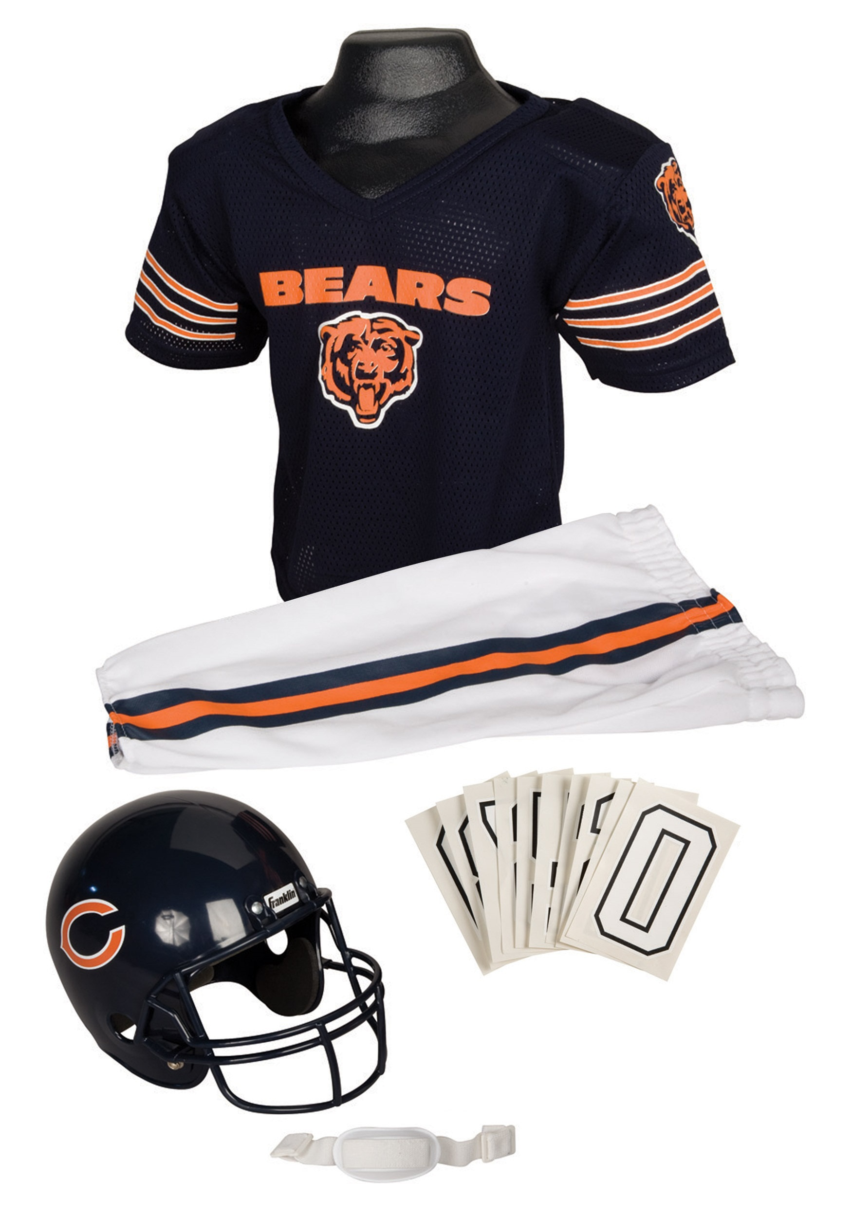 6a08f70b Kids NFL Bears Uniform Costume
