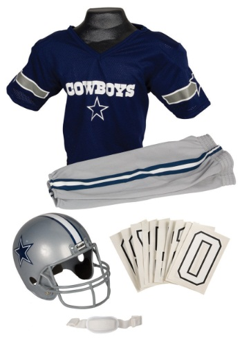 NFL Cowboys Uniform Costume By: Franklin Sports for the 2015 Costume season.