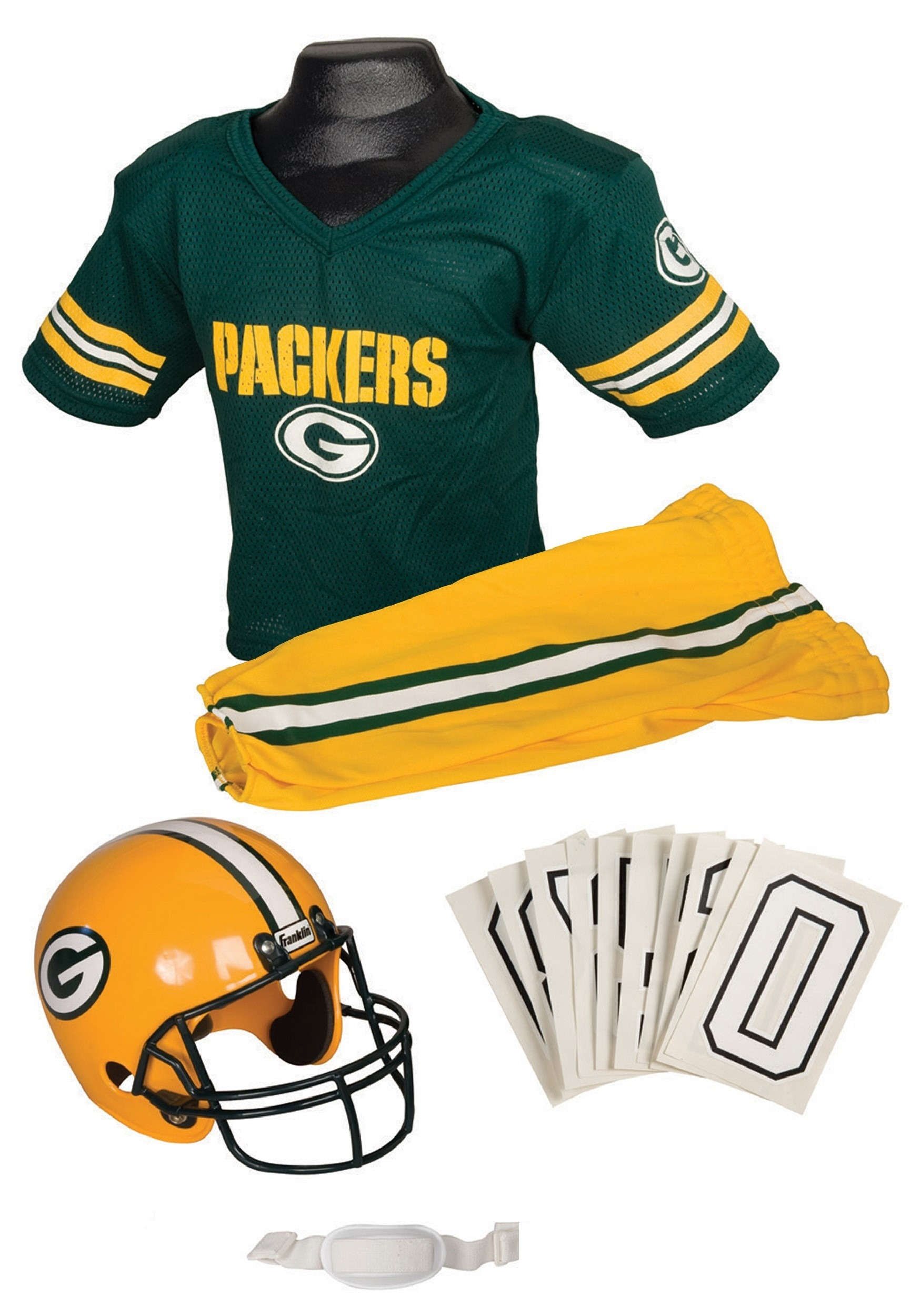 NFL Packers Uniform Costume