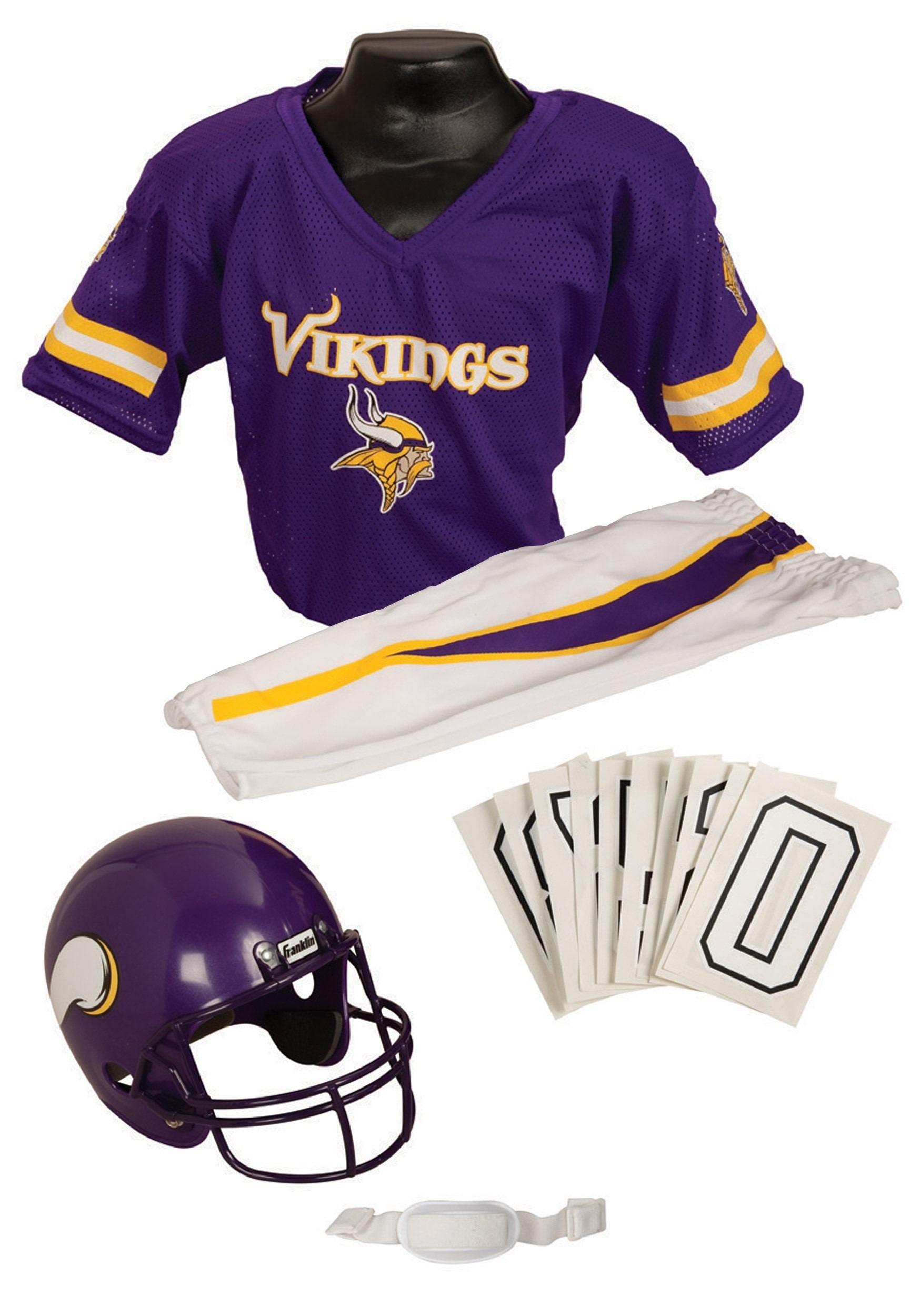 Nfl Football Vikings Nfl Vikings Uniform Costume