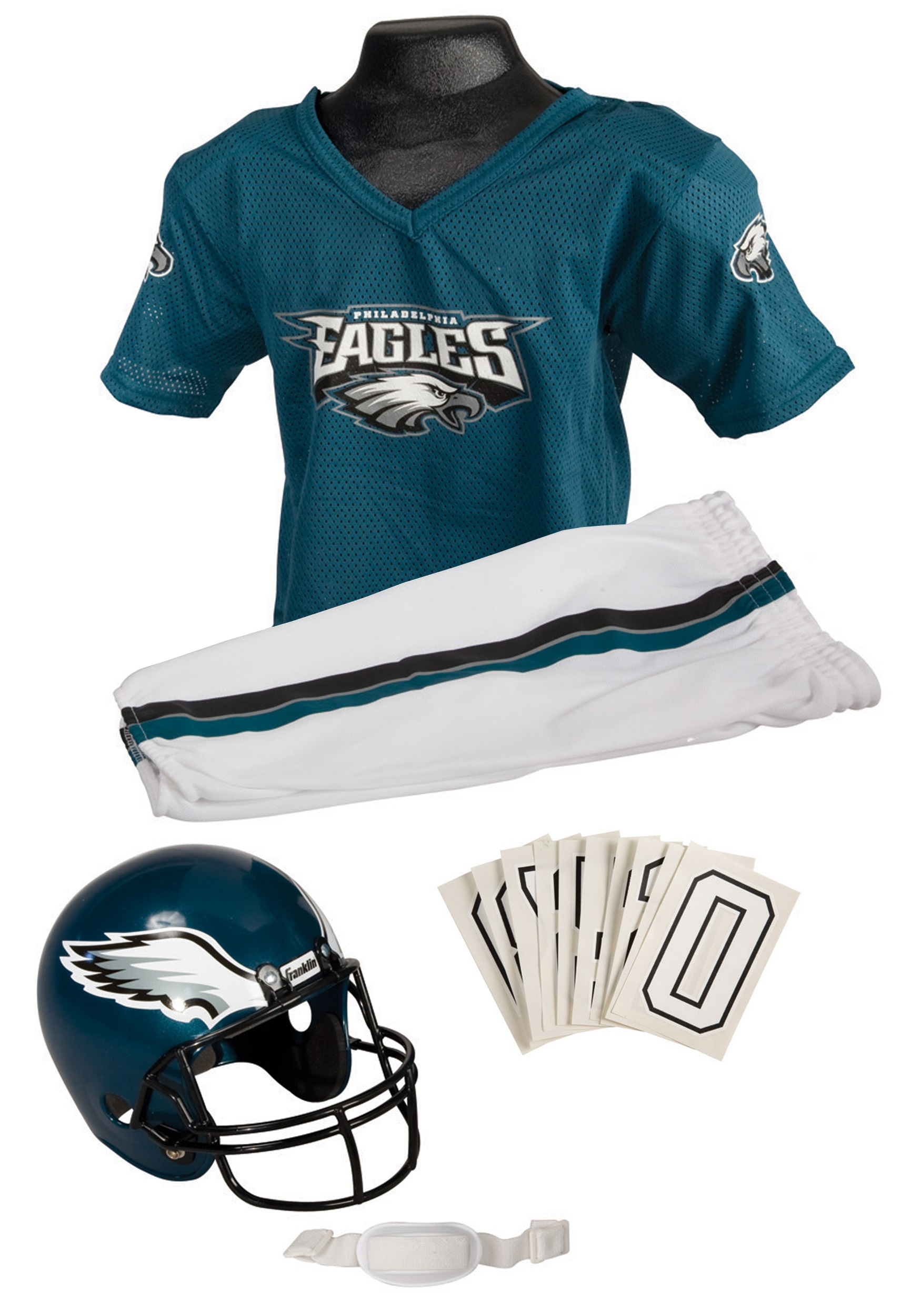 4395253a96f Kids NFL Eagles Uniform Costume