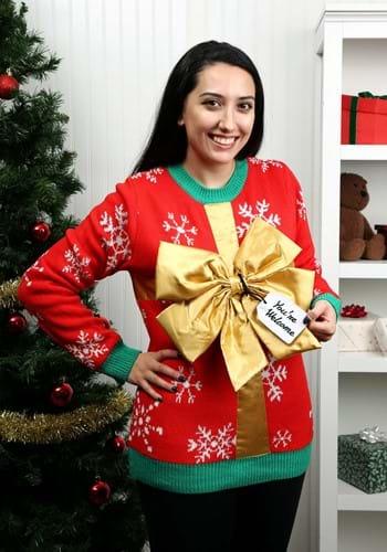 Adult Christmas Present Ugly Christmas Sweater