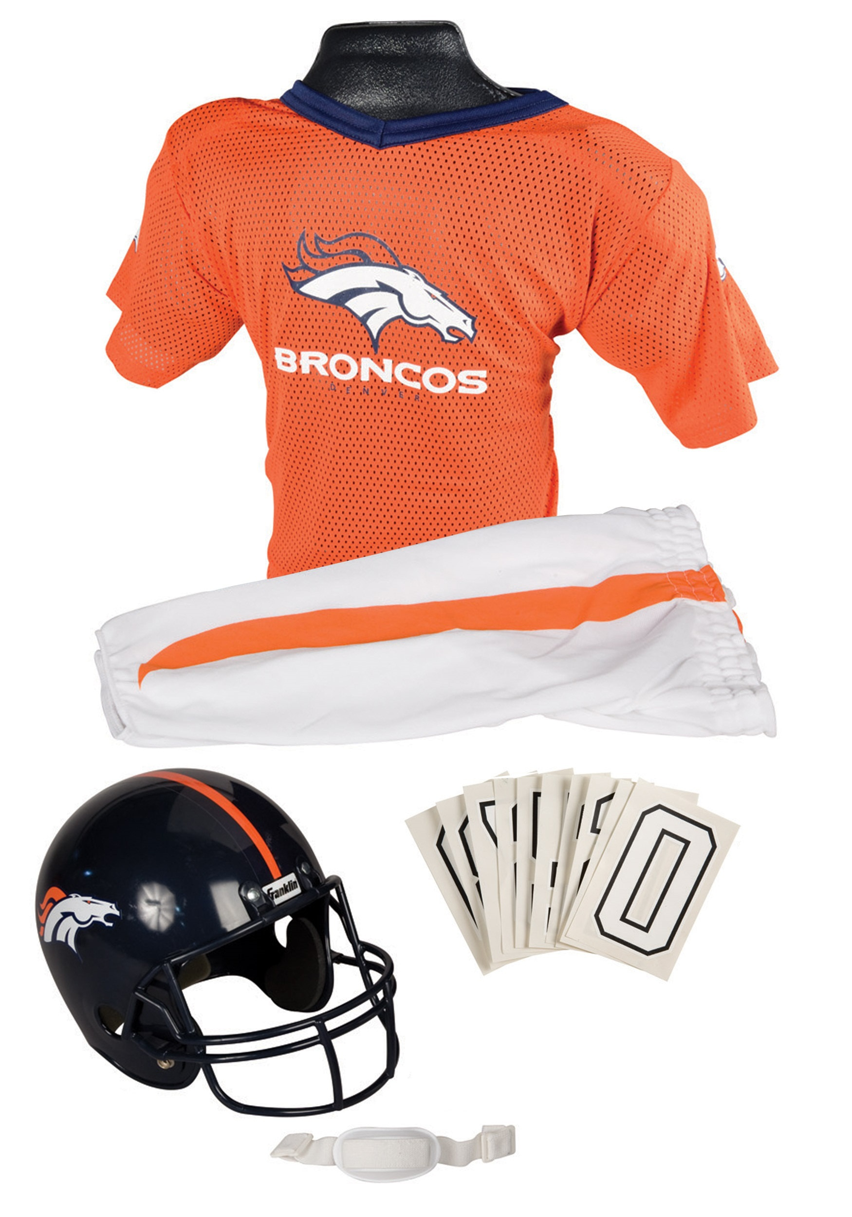 cf4b1457 Kids NFL Broncos Uniform Costume