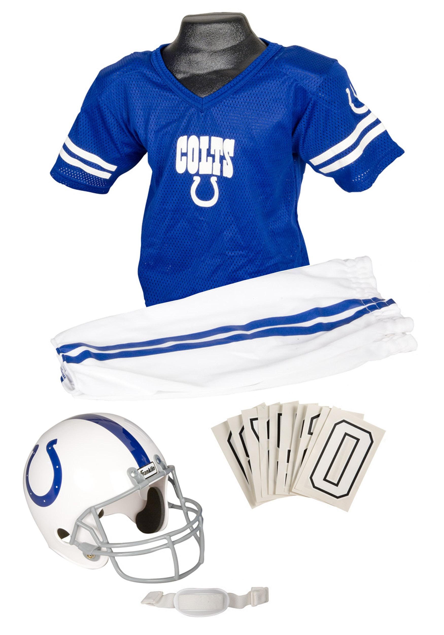 8c1b17b29fc Kids NFL Colts Uniform Costume