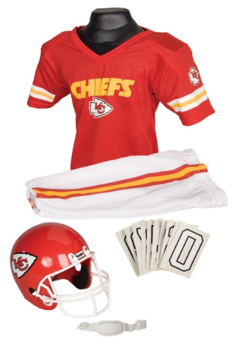 NFL Chiefs Uniform Costume By: Franklin Sports for the 2015 Costume season.