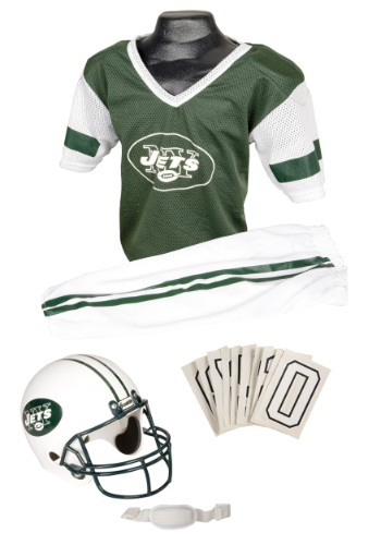 NFL Jets Uniform Costume   New York Jets Kids Costume