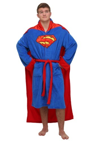 Superman Caped Bathrobe