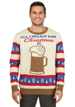 All I Want for Christmas is Beer Sweater