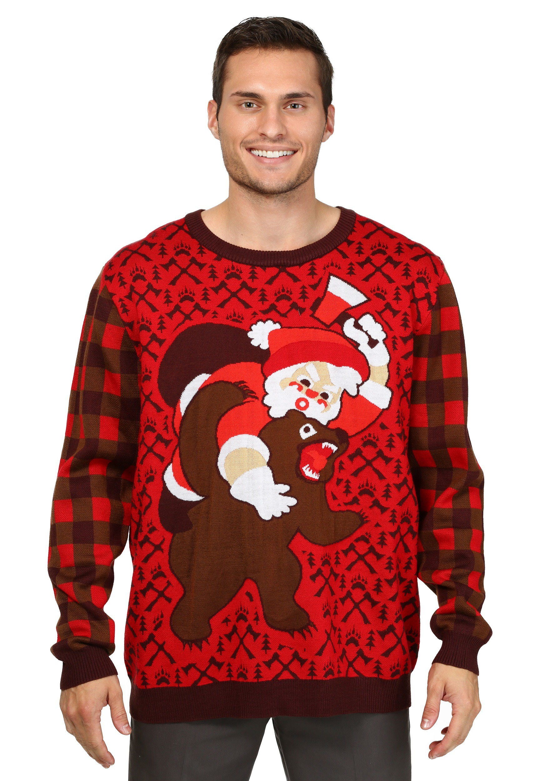 bear christmas sweater - Shark Christmas Sweater